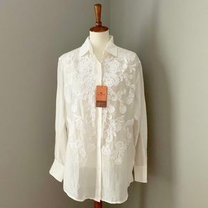 NEW Etro Hailey Voile Blouse